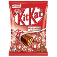 Конфеты Кит Кат в молочном шоколаде с хрустящей вафлей 169г
