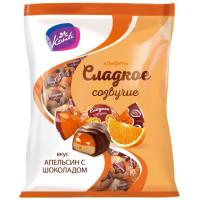 Конфеты Конти Сладкое созвучие вкус апельсин с шоколадом 220г