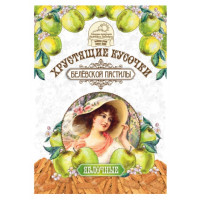 Кусочки Белевская пастила яблочные хрустящие 50г