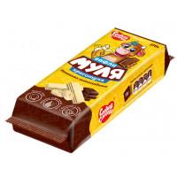 Вафли Сладкая Слобода Муля Красотуля бананово-шоколадные 270г