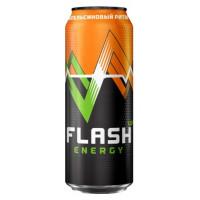 Напиток энергетический Флеш Ап Энергия Апельсиновый 0,45л ж/б