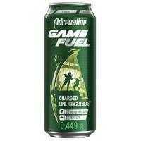 Напиток Адреналин Раш Игровая энергия имбирь лайм 0,449л ж/б