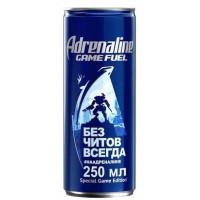 Напиток Адреналин Раш игровая энергия 0,25л ж/б