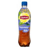 Чай холодный Липтон вкус черники 0,5л