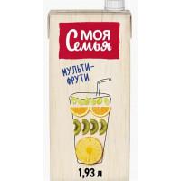 Напиток сокосодержащий Моя Семья Мультифруктовый 1,93л