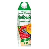 Напиток Добрый ягоды с медом и шалфеем 1л