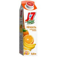 Нектар J7 Тонус Апельсин и банан с пребиотиком 0,9л
