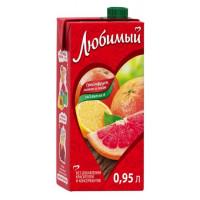 Напиток сокосодержащий Любимый сад цитрусовый микс 0,95л