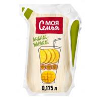 Напиток сокосодержащий Моя Семья Ананас манго маракуйя 175мл