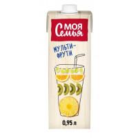 Напиток сокосодержащий Моя Семья мульти-фрути 950мл