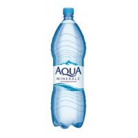 Вода Аква Минерале чистая питьевая негаз 2л