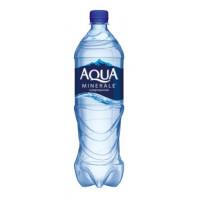 Вода Аква Минерале питьевая газ 1л