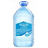 Вода Аква Минерале чистая питьевая негаз 5л