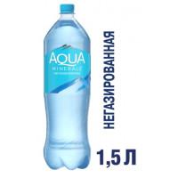 Вода Аква Минерале минеральная негаз 1,5л
