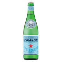 Вода Сан Пеллегрино минеральная газированная 0,75л ст/б