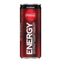 Кока-кола Энерджи зеро 0,25л ж/б