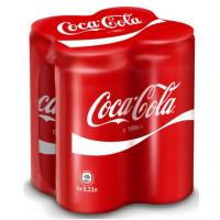 Кока-Кола ж/бн 4*0,33л мультипак