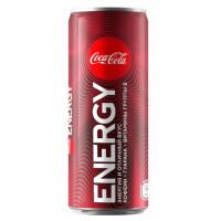 Кока-кола Энерджи 0,25л ж/б