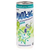 Напиток Лотте Милкис дыня газированный 250мл ж/б