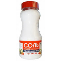 Соль Экстра поваренная пищевая выварочная йодированная 950г