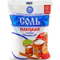 Соль Илецкая пищевая 1кг