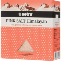 Соль Сетра розовая гималайская мелкая 500г