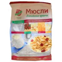 Мюсли Алтайские кранчи запеченные с вишней, миндалем и белым шоколадом 350г