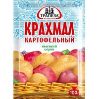 Крахмал Трапеза картофельный в/с 100г
