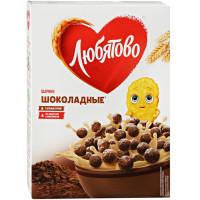 Завтрак сухой Любятово шарики шоколадные 250г