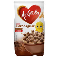 Завтрак готовый Любятово шарики шоколадные 200г