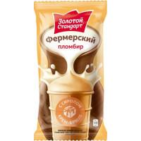 Мороженое Инмарко Золотой стандарт фермерский крем-брюле 90г ваф ст
