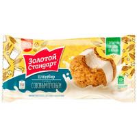 Мороженое Инмарко Золотой стандарт сэндвич овсяное печенье 69г