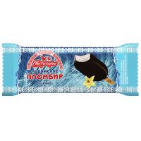 Мороженое Свитлогорье Пломбир ванильный в сливочной глазури эскимо 15% 80г