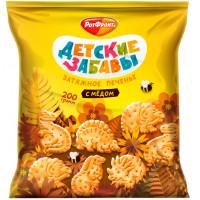 Печенье Ротфронт Детские забавы затяжное с медом 200г