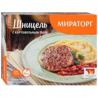 Шницель Мираторг с картофельным пюре 330г