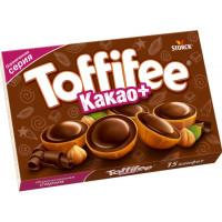 Конфеты Тоффифи Какао+ лесной орех в карамели 125г