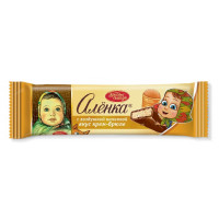 Шоколад Красный Октябрь Аленка крем-брюле 42г