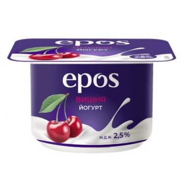 Йогурт Эпос вишня 2,5% 120г