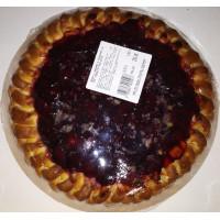 Пирог с вишней и грецкими орехом кг