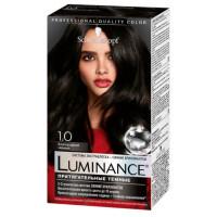 Краска для волос Шварцкопф Люминанс 1.0 Благородный черный 165мл