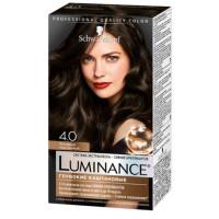Краска для волос Шварцкопф Люминанс 4.0 Холодный каштановый 165мл