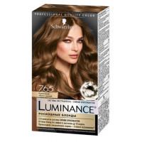 Краска для волос Шварцкопф Люминанс 7.65 Кремовый темно-русый 165мл