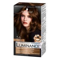 Краска для волос Шварцкопф Люминанс 5.6 Бархатный каштановый 165мл