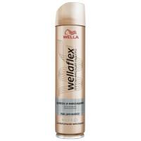 Лак для волос Веллафлекс блеск и фиксация суперсильная фиксация 250мл
