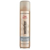 Лак для волос Веллафлекс блеск и фиксация супер-сильная фиксация 400мл