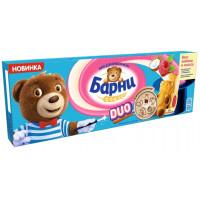 Пирожное Медвежонок Барни с малиново-кокосовой начинкой 150г