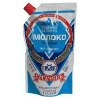 Молоко Рогачевский мк сгущенное с сахаром цельное 8,5% 280г дойпак
