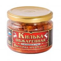 Килька Вкусные консервы обжаренная в т/с 260г ст/б