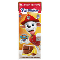 Коктейль Растишка молочный шоколад-банан 2% 210г