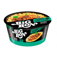 Лапша Биг бон говядина+соус гуляш 85г
